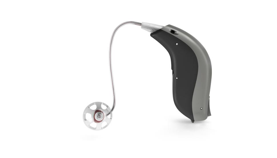 Bernafon: Exhörer-Hörgerät Bernafon Viron seitlich
