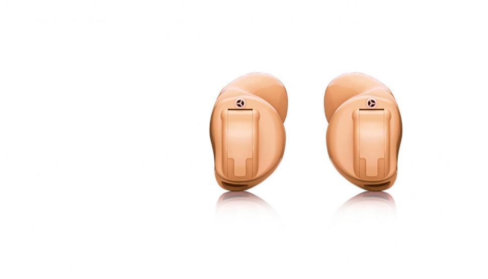 Hansaton: Zwei Hansaton Im-Ohr-Hörgeräte Jazz XC Pro ITC in beige