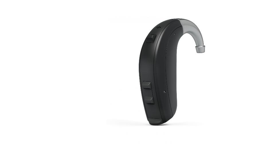 Interton: Hinter-dem-Ohr-Gerät mit Winkel