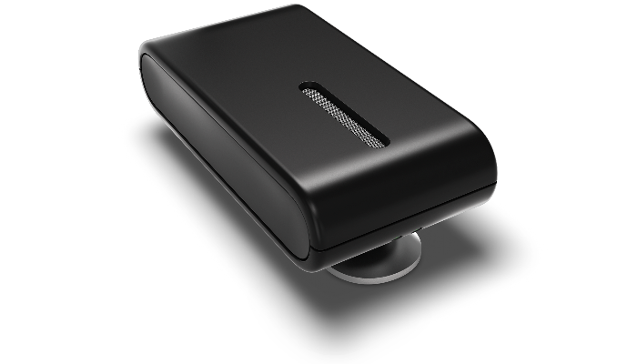 Oticon: Schwarzes Ansteckmikrofon Connect Clip von Oticon mit LED