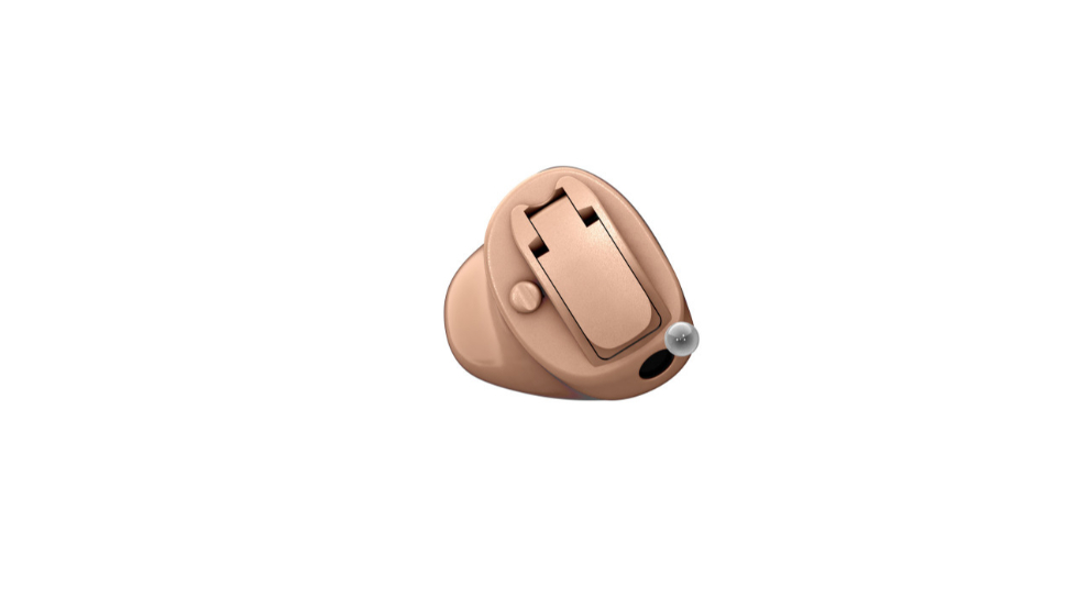 Oticon: Im-Ohr-Hörgerät Oticon OPN in beige - Bauform CIC