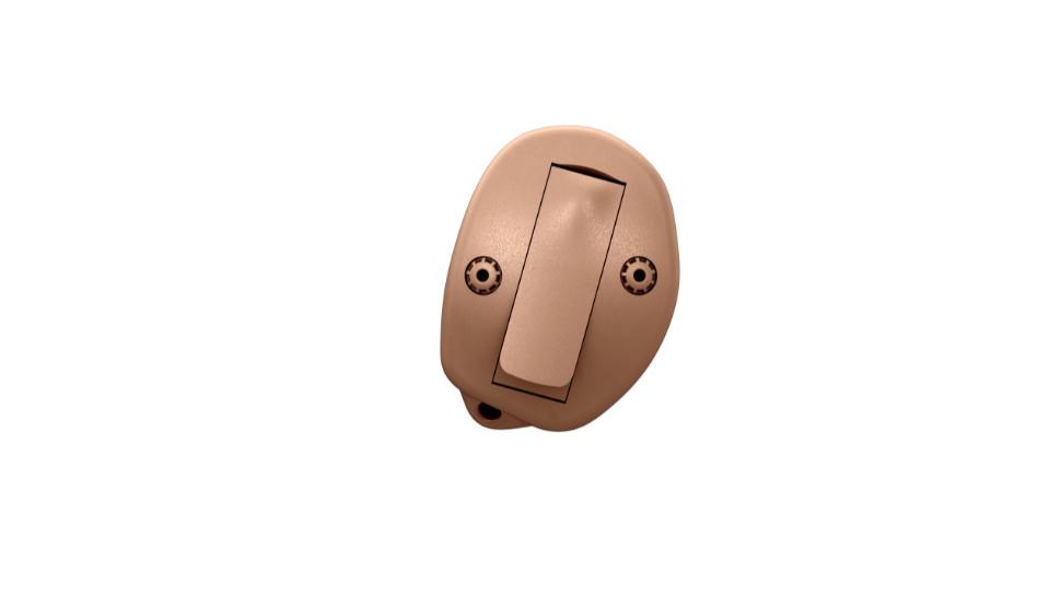 Oticon: Im-Ohr-Hörgerät Oticon OPN ITC in beige