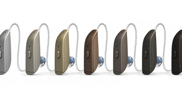ReSound: Farbübersicht für Resound One Exhörer-Hörgeräte