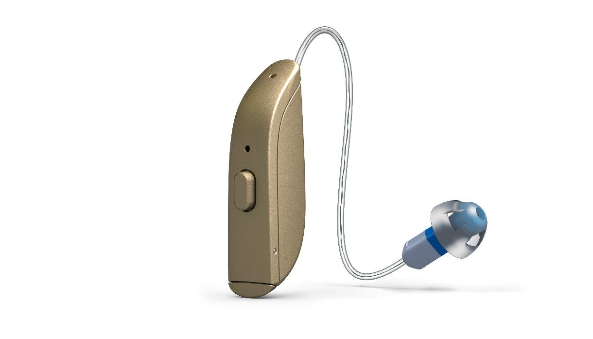 ReSound: Hörgerät mit Exhörer gold