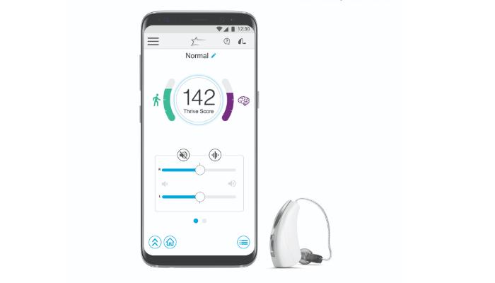 Starkey: Hörgerät und Handyapp