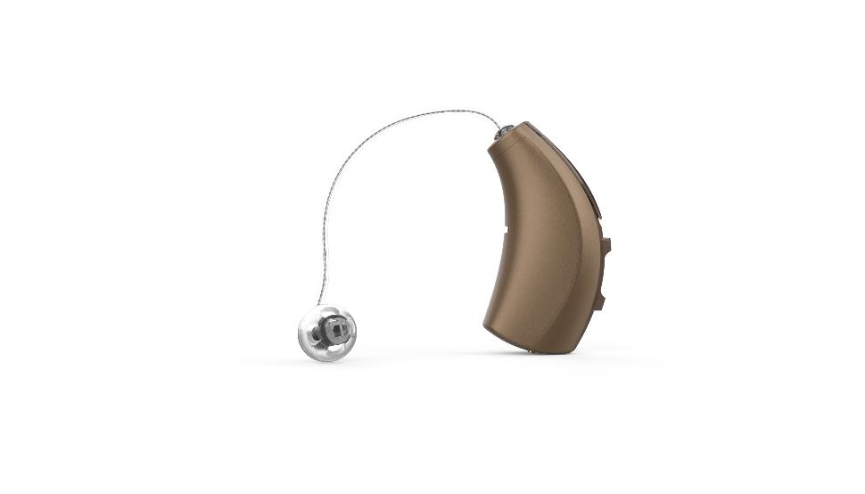 Starkey: Ein Hörgerät mit Exhörer: Strakey Livio Edge in bronze