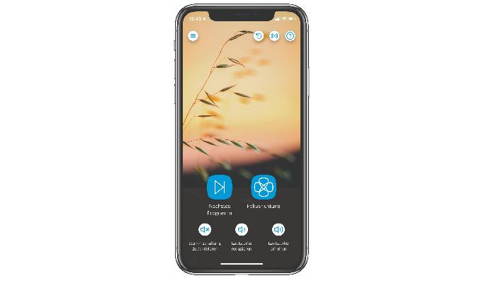 Widex: App auf dem Handy