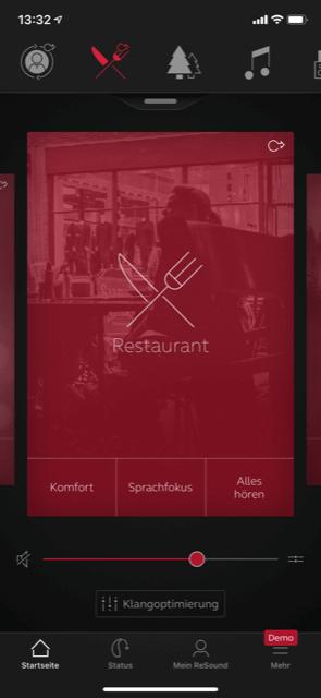 ReSound Smart 3D App Screenshot